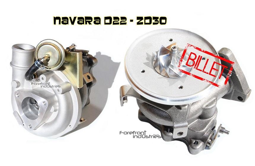 New Billet Turbos - Forefront Industries - The Navara Forum