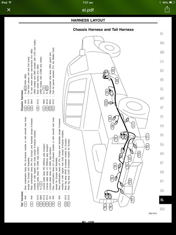 Nissan Navara D40 Fog Light Wiring Diagram : Nissan tail light wiring diagram get free image